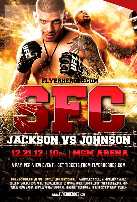 MMA-Fight-Night-Flyer