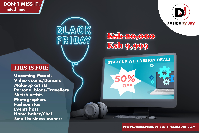 Black Friday Website Offer