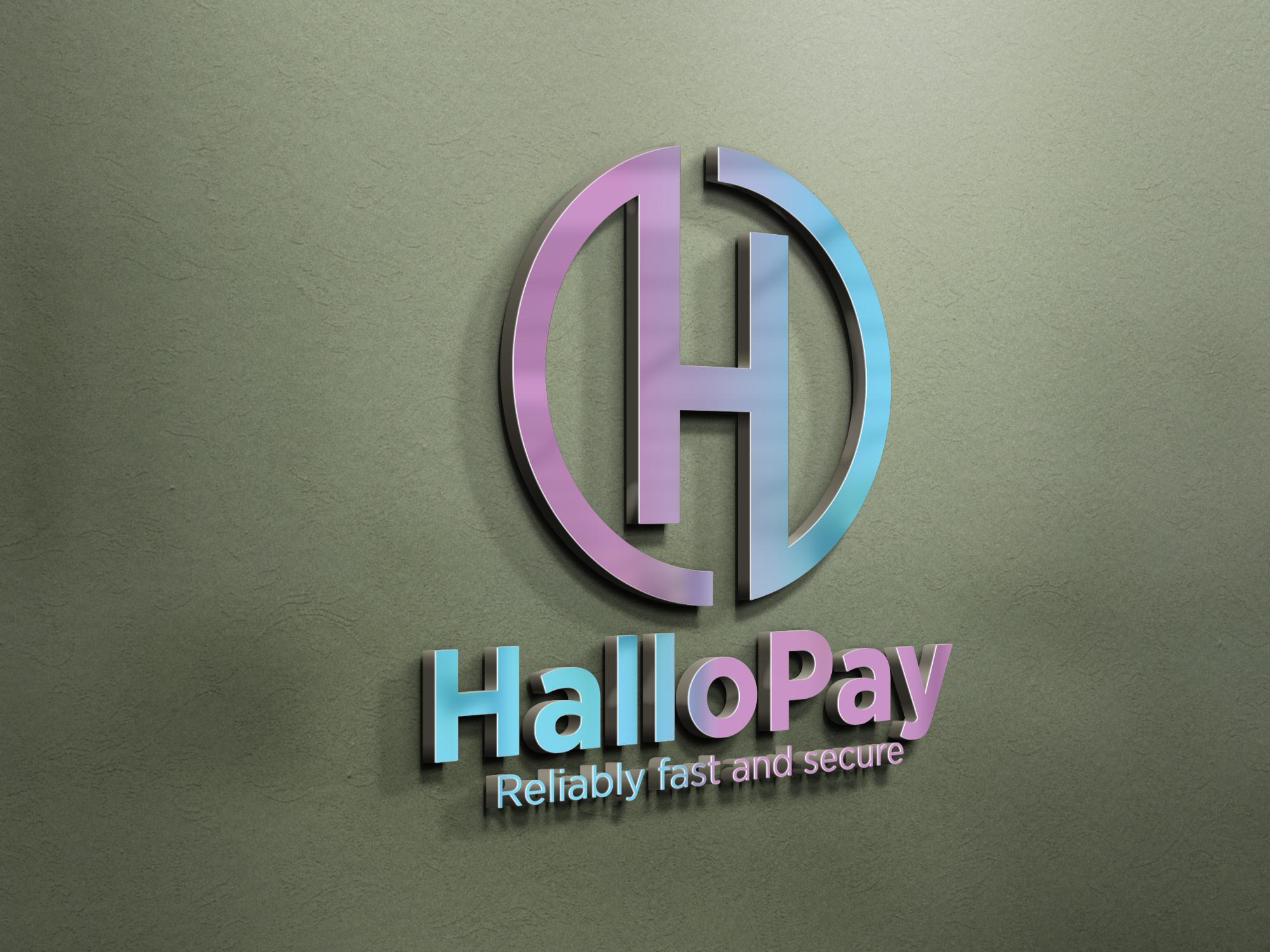 hallopay wall logo