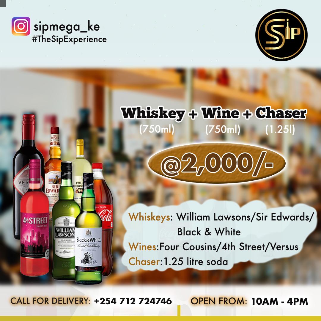 sip mega poster whisky
